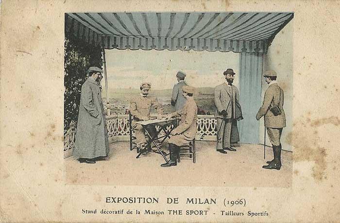 Italienische Herren im sportlichen Anzug